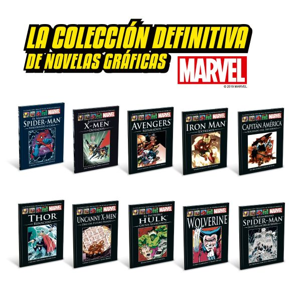 MARVEL Tomos 1 al 10