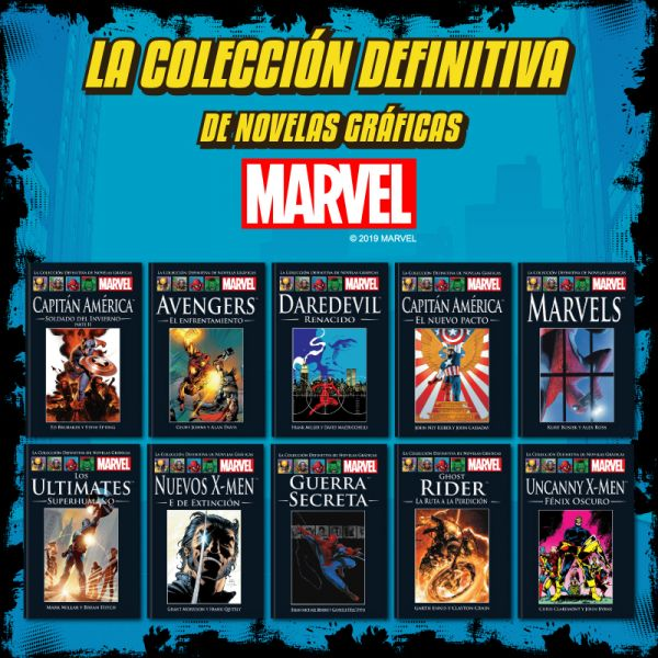 MARVEL Tomos 11 al 20