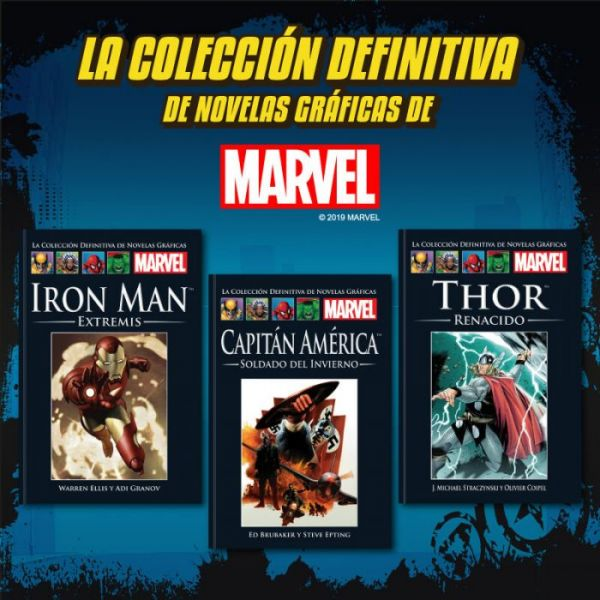 MARVEL Tomos 4 al 6