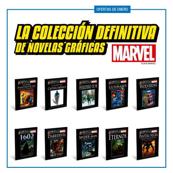 MARVEL Tomos 41 al 50