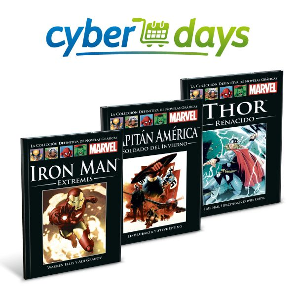 MARVEL x3 - Cyberdays